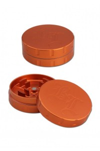 'BL' 'Startrails' Aluminium Grinder 2-part 62mm Orange