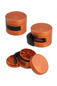 'BL' 'Dooor' Aluminium Grinder 3-part w. Door 64mm