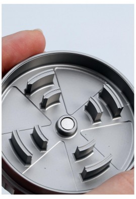 'BL' 'Startrails' Aluminium Grinder 2-part 62mm titan