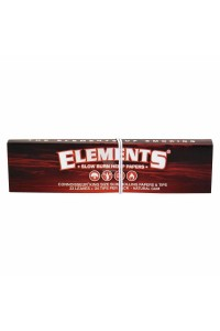 Elements RED Connoisseur | King Size Slim (110х44мм) | Rolling Papers 33шт