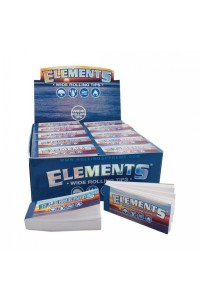 Elements Wide Perforated Tips Filters 50шт