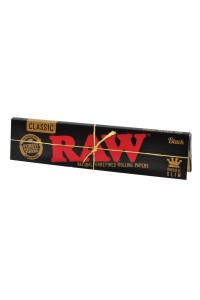 Бумага 'Raw' 'Black' King Size Slim Extra Fine 32 шт