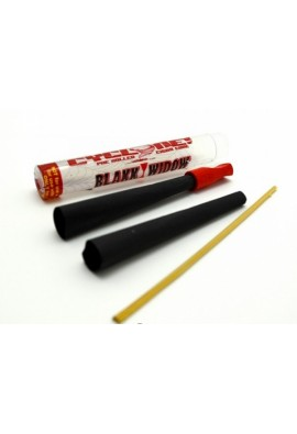 Cyclones Black Widow Pre Rolled Cones 1 1/4 - 2 Pack