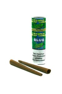 JUICY JAYS 2x Cone Cyclones Hemp Blue (105mm)