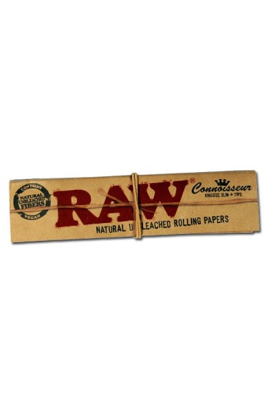 RAW Connoisseur King Size Slim with Tips